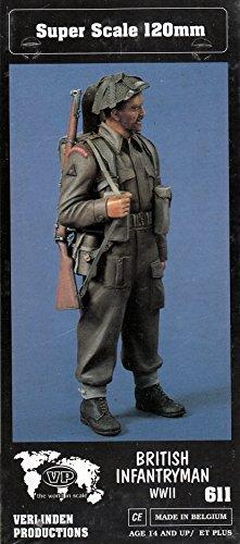 Verlinden VER0611 120mm Figure - British Infantryman WW2 Model Building KIT