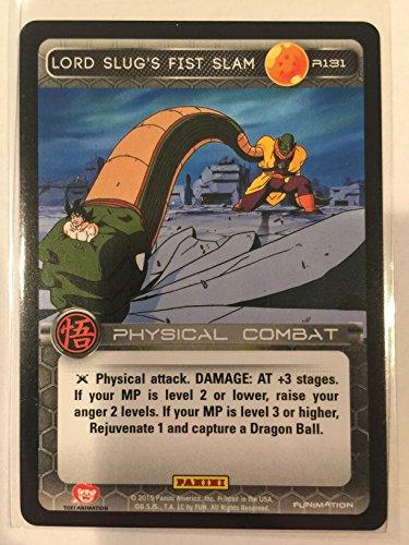 R131 Lord Slugs Fist Slam Panini Movie Collection DBZ Dragonball Z 131