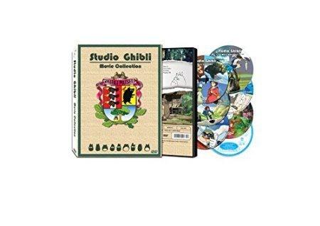 Studio Ghibli 16 Movie Collection New 2012 English Language Edition Director Hayao Miyazaki 6 Disc Top Quality by Samorthatrade