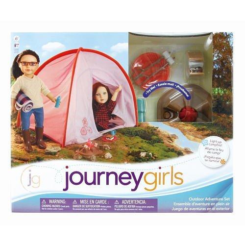 Journey Girls OUTDOOR ADVENTURE Camping Set