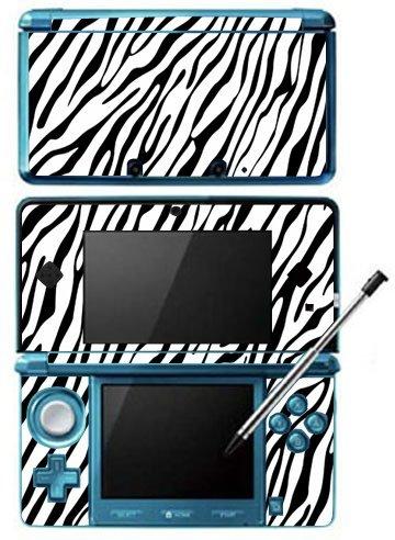 Zebra Print Pattern Skin for Nintendo 3DS Console by Skinhub