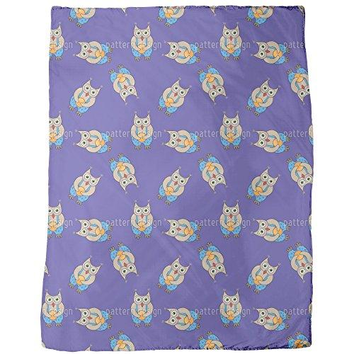 Owl Boy Blanket Small