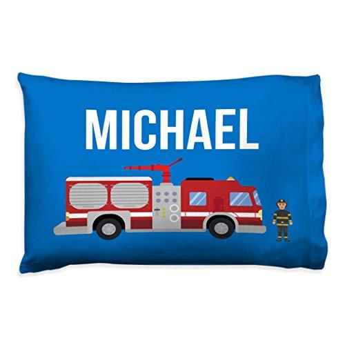 Personalized Firefighter Pillowcase  Kids Pillowcase by ChalkTalk Sports