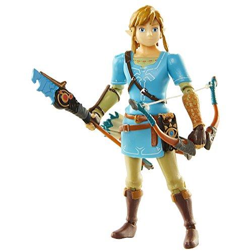 World of Nintendo Breath of The Wild Link 4 Figure Action Figure