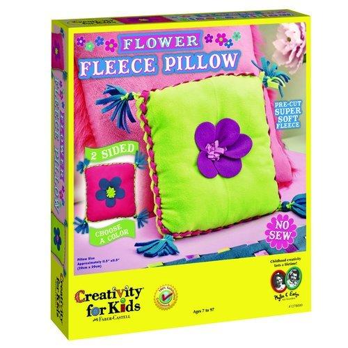 Creativity for Kids Flower Fleece Pillow Kit