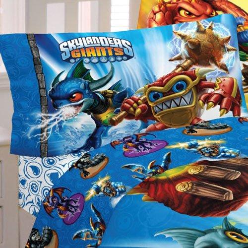 Activision Skylanders Sky Friends Microfiber Sheet Set Full