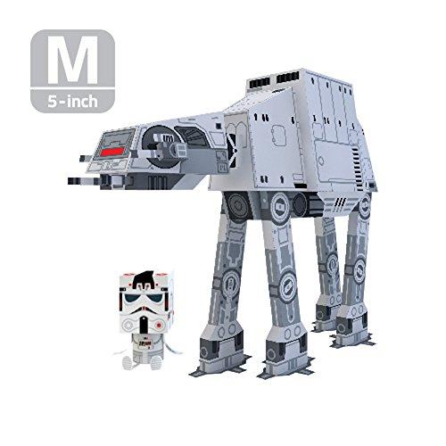 MOMOT Paper Craft Toy - STARWARS AT-AT WALKER 5-inch M Size 13cm