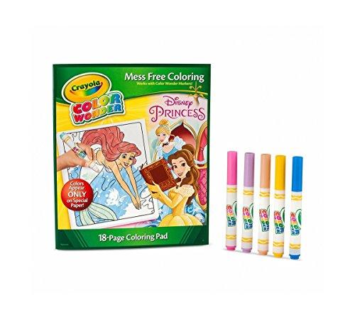 Color WonderDisney Princess Enchanted Coloring Book and Markers Style May Vary