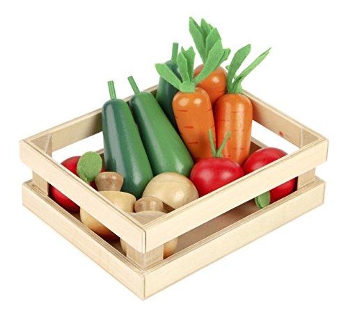 Tidlo Wooden Winter Vegetables - Play Food Set