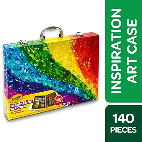 Crayola Inspiration Art Case Coloring Set Gift for Kids Age 5