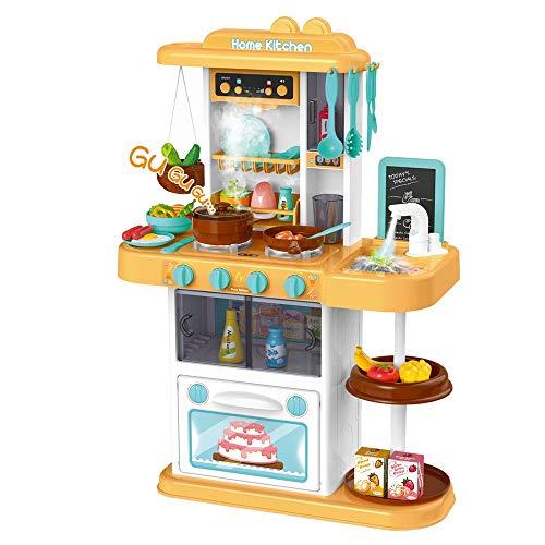 Hellofishly Pretend Play Cooking Sets Simulates Kitchen Toy Family Game Range Hood  SinkMusic Development Educational Pretend Play Toy