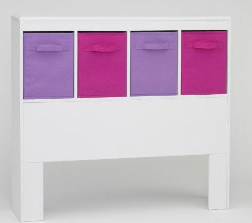 4D Concepts Girls Headboard White