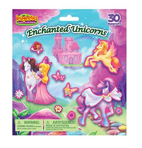Imaginetics Enchanted Unicorns Playset - Includes 30
