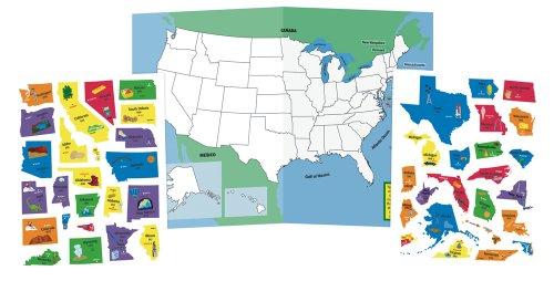 Imaginetics International Playthings USA Map