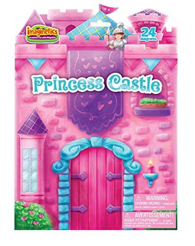 Imaginetics Princess Castle Playset - Includes 24 Magnets