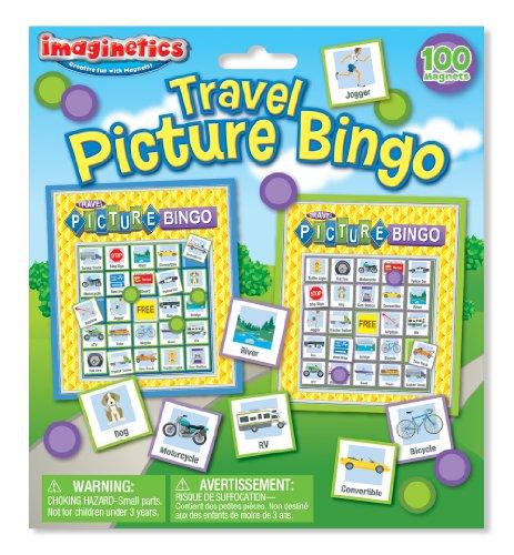 Imaginetics Travel Picture Bingo Set
