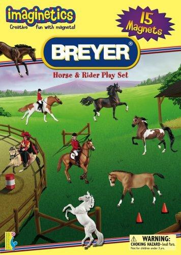 International Playthings Imaginetics Breyer Horse and Rider Playset by Imaginetics