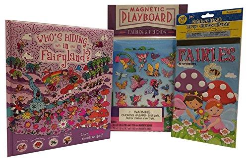 Fairies Friends Magnetic Playboard Whos Hiding in Fairyland Bundle Sticker Bundle