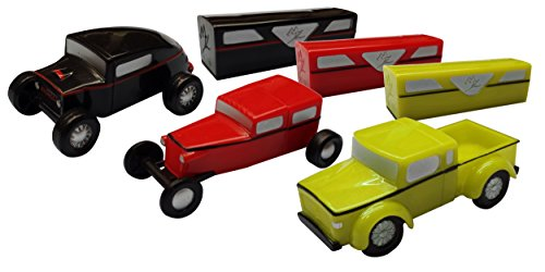Color Assorted Play Set 2 MagModz -Interchangeable Magnetic Toy Cars- 9 individual Pieces  60 different combinations