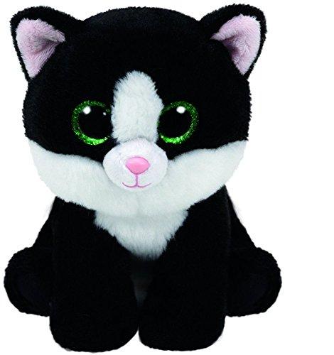Ty Beanie Babies Ava - Black White Cat