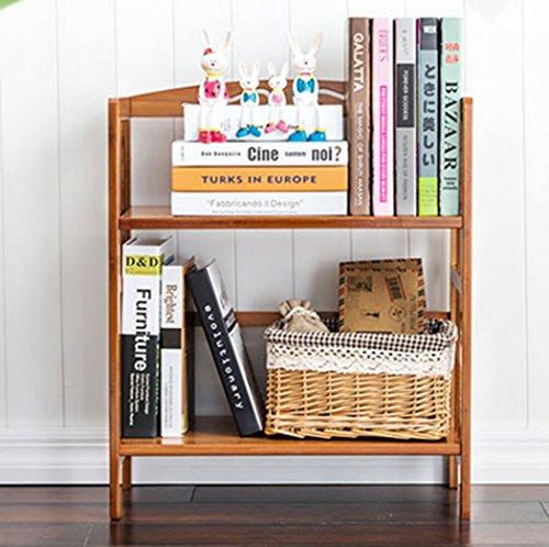 70CM Long DIY Student Desk Bookcase Bookshelf Bamboo Wood Desktop Multi-function Wooden Self Storage Holder HomeOffice Decor