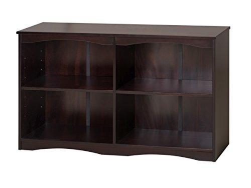 Camaflexi Essentials Wooden Bookcase 305H x 51W x 12D Cappuccino