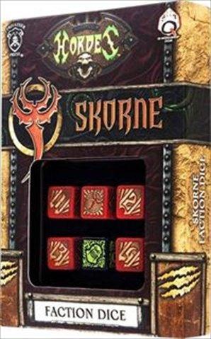 Q-Workshop SPHO54 Hordes Skorne Dice Set 6