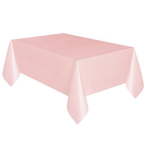 Plastic Tablecloth 108 x 54 Light Pink