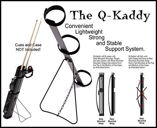 Q-Kaddy Cue Case Support System Cue Case Stand Billiard Case Stand