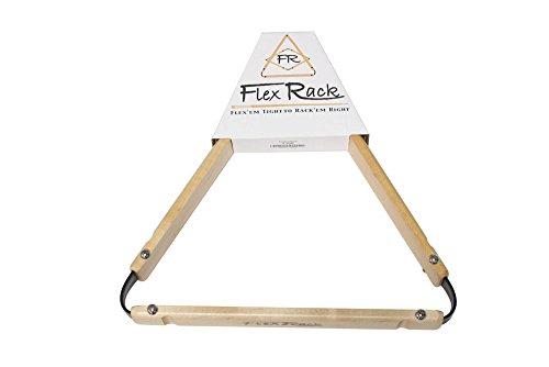 8 Ball Pool Table FlexRack Billiards - Maple