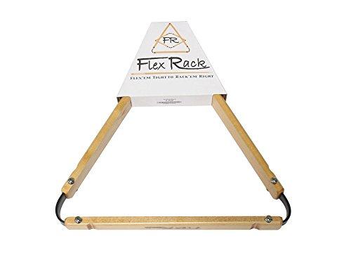 8 Ball Pool Table FlexRack Billiards - Oak