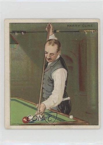 Albert Cutler Ungraded COMC Good to VG-EX Trading Card 1911 ATC Champion Pool Billiard Players - Tobacco T218 - Mecca Back ALCU1