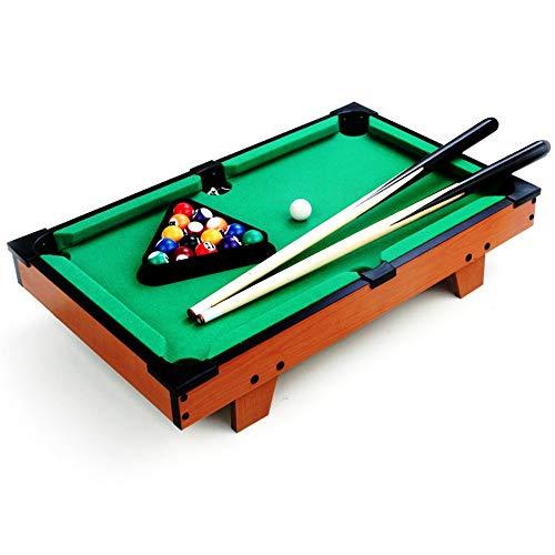 Mini Tabletop Pool Set Tabletop Toy Pool Table Desktop Miniature Pool Table Set for Adults Kids Mini Pool-Billiard Table Tabletop Toy for Home Office Tabletop Billiards Pool