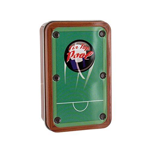 Paladone Tin Top Pool- Travel Pool-Billiards Game- Executive Desk Toys