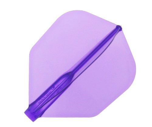 COSMO DARTS Fit Flight Air Shape Purple 3 Pack