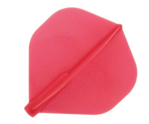 Cosmo Darts Fit Flight - Standard Dart Flight Red