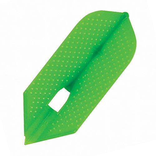 L6d Slim Dimple Champagne Dart Flights - Lime Green