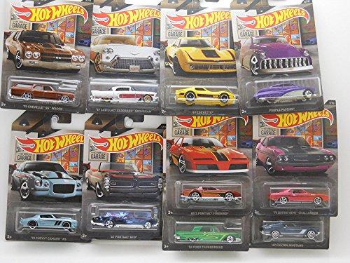 Hot Wheels 2016 Garage Series Walmart Exclusive Complete Set of 10