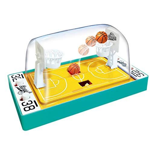 Lumumi Handheld Desktop Basketballs Toy Mini Finger Basketballs Shooting Game Toy Green