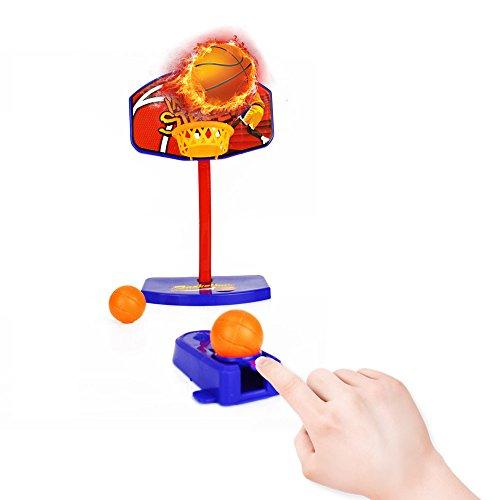 Mini Desktop Basketball Hoop Toys Finger Sports Toy Basketball Shooting Game for Kids