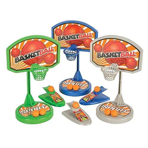 SRENTA Mini Basketball Table Game Basketball Finger Sport Game Tabletop Basketball Shooting Game for Kids 3 Pcs