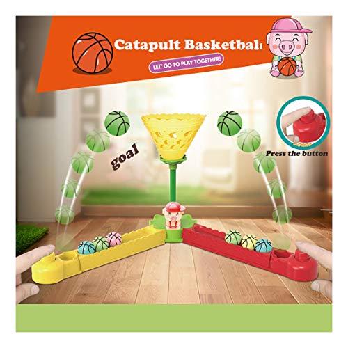 sakd Finger Basketball Mini Basketball Shooting Game Desktop Table Shooting Hoop Toy Set for Stress Relief Killing Time Kids Boys Girls Gift as Shown