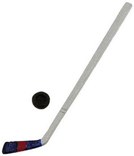 Dollhouse Miniature Hockey Stick wPuck by International Miniatures