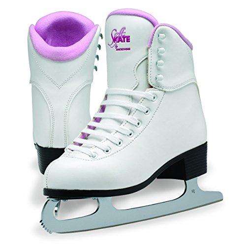 Jackson GS 180 SoftSkate Womens Figure Ice Skates Pink 8