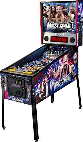 Stern Pinball WWE WrestleMania Arcade Pro Edition Pinball Machine