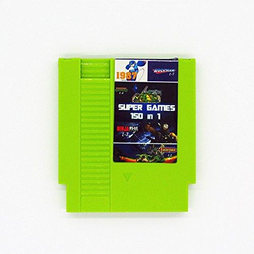 150 in 1 NES Nintendo Game Cartridge TMNT Super Mario Castlevania Ninja Gaiden LATEST VERSION