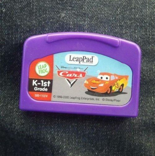 Leap Frog LeapPad Disney Pixar Cars K-1st Grade Book and Cartridge