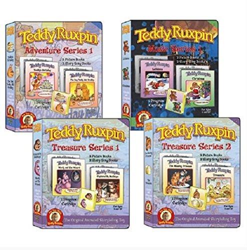 Teddy Ruxpin Favorite Software Series Bundle Program Cartridge