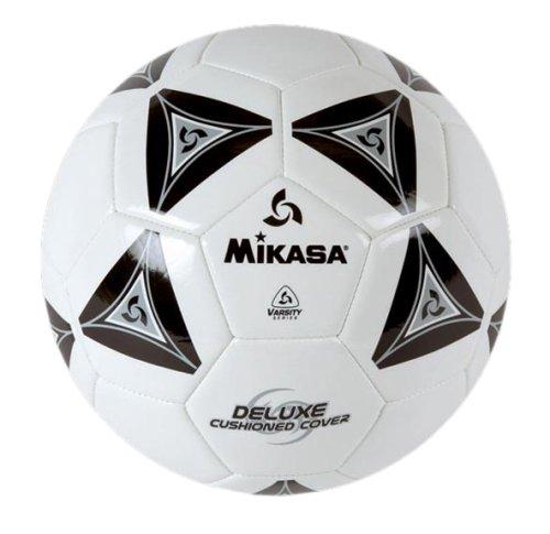 Mikasa Serious Soccer Ball BlackWhite Size 3