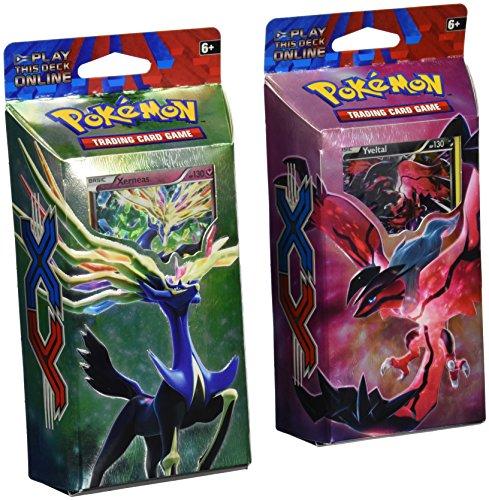 BOTH DECKS - Pokemon 2014 TCG Card Game XY Theme Decks - Xerneas Resilient Life Yveltal Destruction Rush